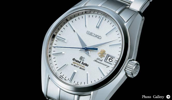 SEIKO グランドセイコー 50周年記念メカニカル限定モデル
