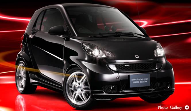 smart fortwo coupe BRABUS Xclusive|限定100台のBRABUSチューニングモデル|smart