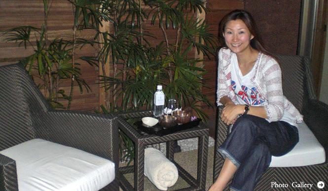 連載・SAKURA|2010.06|第2回 バリ・リゾート気分を味わえる、トリートメントメニューを体験!