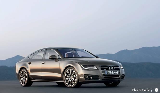 Audi A7 Sportback|A6以上、A8未満の5ドアクーペ