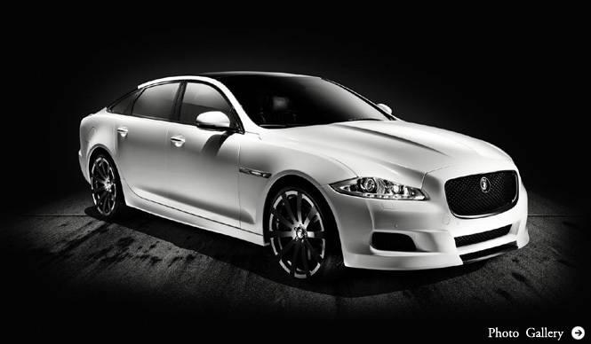 Jaguar XJ Platinum Concept|たった1台のスペシャル・ジャガー