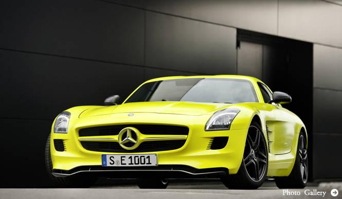 Mercedes-Benz|メルセデス・ベンツ SLS AMG E-CELL 発表&試乗会レポート