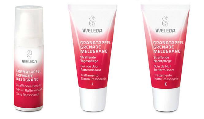 WELEDA|エイジング肌のための「ざくろスキンケア」シリーズ新発売