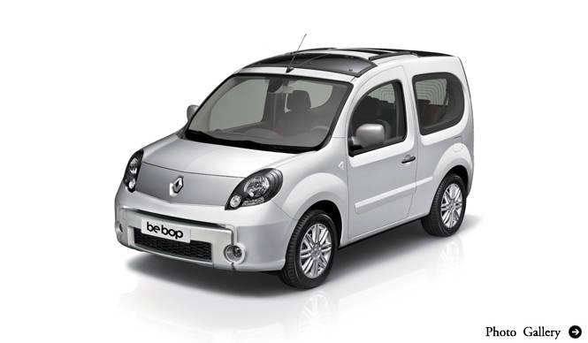 Renault Kangoo Bebop ルノー カングー ビボップ インプレッション