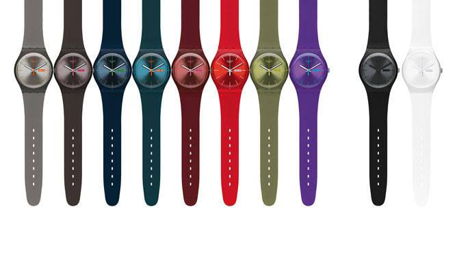 SWATCH|「Swatch NEW GENT」10色ラインアップ