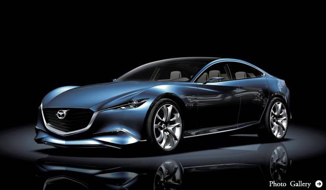 マツダ|MAZDA デザインコンセプトカー「靭」(シナリ)を発表