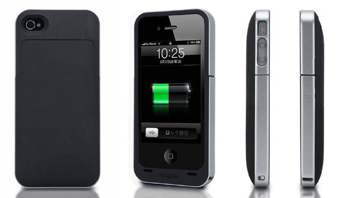 FOCAL|超薄型69gのiPhone4用 バッテリー内蔵ケース