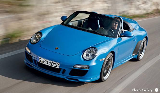 PORSCHE ポルシェ 「911 Speedstar」を356台限定販売