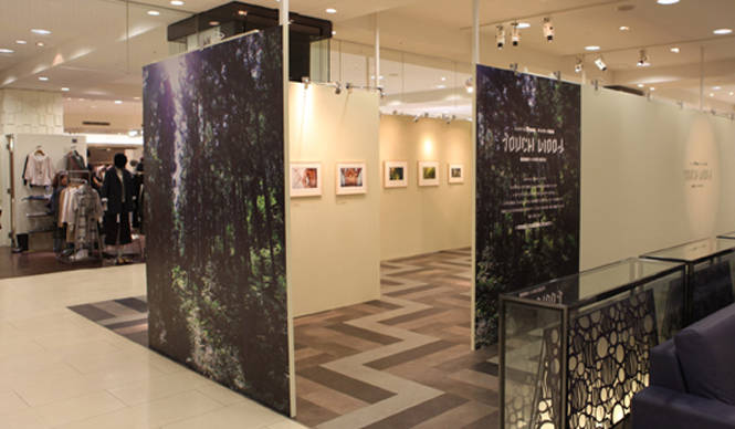 EVENT|more treesチャリティー写真展、「TOUCH WOOD展」開催