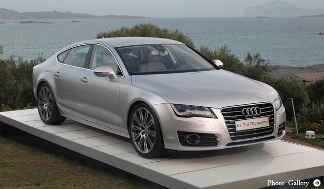 Audi A7|アウディ A7 イタリアでの試乗
