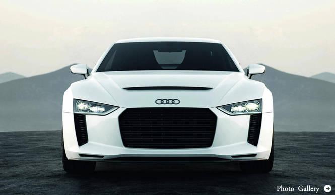 AUDI Quattro Concept アウディ クワトロ コンセプト 発表