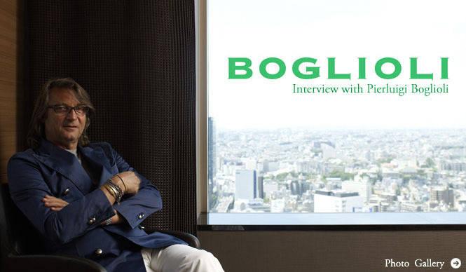 BOGLIOLI|ピエルイジ・ボリオリ インタビュー