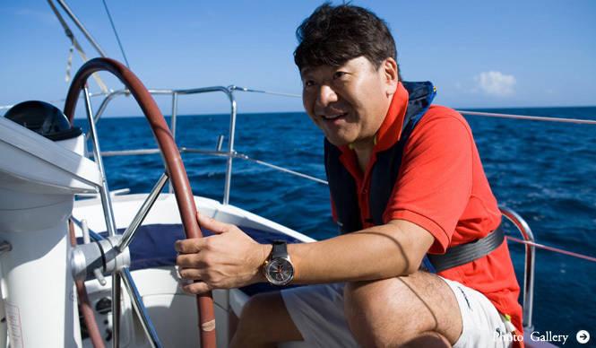 IWC|作家、鈴木光司氏に訊く、機械式時計とヨットの魅力