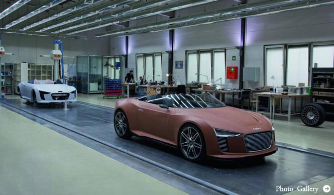 Audi e-tron アウディ eトロン 製造工程の写真を公開