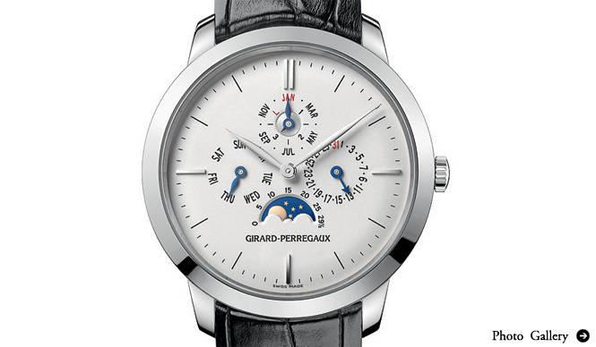 Girard-Perregaux|歴史を感じさせる時計が登場、「ジラール・ペルゴ フェア」開催