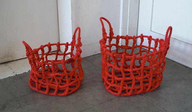 shigeki fujishiro design|藤城成貴デザインの多機能カゴ「knot」