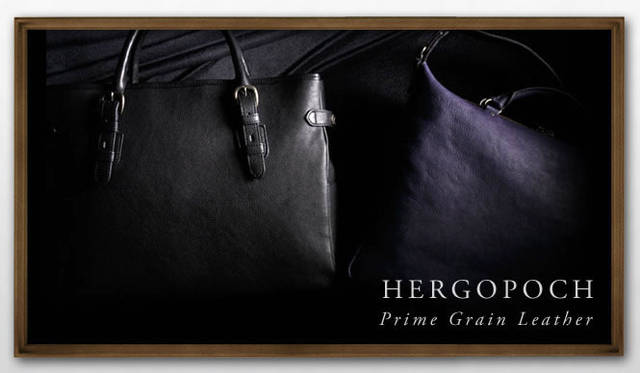 HERGOPOCH 日本の鞄の老舗がつくるプライム グレイン レザーという上質