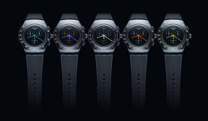 SWATCH|「スウォッチ・クロノブラック・コレクション」5モデル