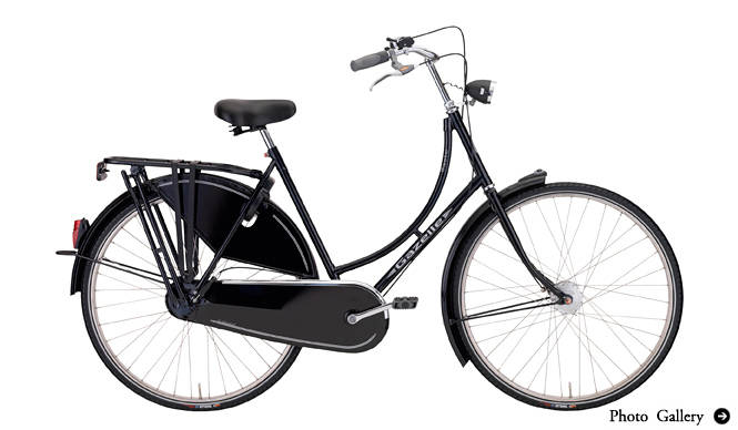 Gazelle|オランダの老舗高級自転車ブランド「Gazelle」に乗る