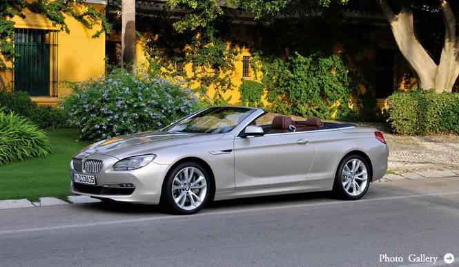 BMW 6 Series Cabrio|ビー・エム・ダブリュー 6シリーズ カブリオ 発表