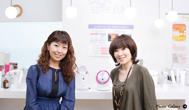 パナソニック 大田馨子×小林ひろ美|スチームパワーで、24時間、いつでも美容(前編)