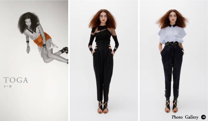 TOGA|2011年春夏コレクション 曲線美に宿るフェティシズム