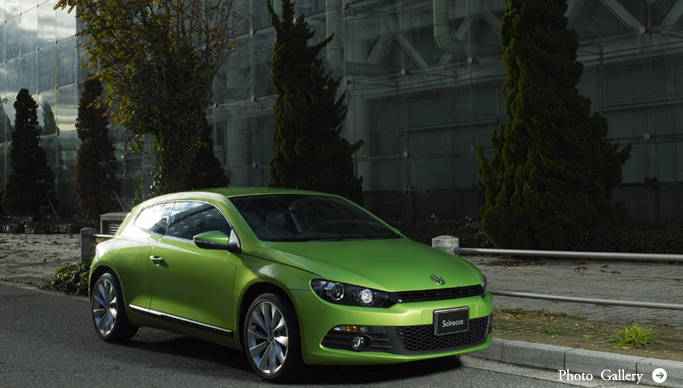 Scirocco|シロッコ|Volkswagen Scirocco:The Car makes Style. シロッコが走り、創造の風が吹く