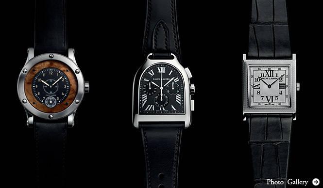 RALPH LAUREN|時計愛好家も唸る魅力的な仕様が、より身近な存在に
