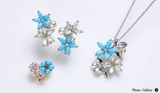 MIKIMOTO|モチーフが新鮮「Spring Collection 2011」