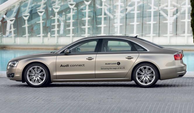 Audi A8 アウディ A8 モバイルシステム導入のプロトタイプ