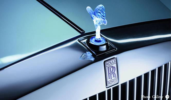 Rolls-Royce 102EX ロールス・ロイス 102EX ファントムのEVを発表