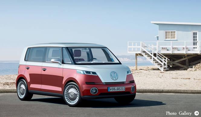 Volkswagen Bulli フォルクスワーゲン ブリー マイクロバンEVデビュー