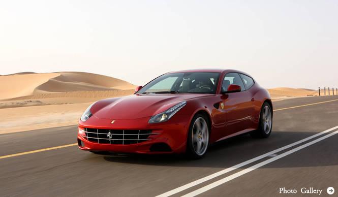 Ferrari Four(FF)|フェラーリ フォー(FF) ジュネーブでお披露目