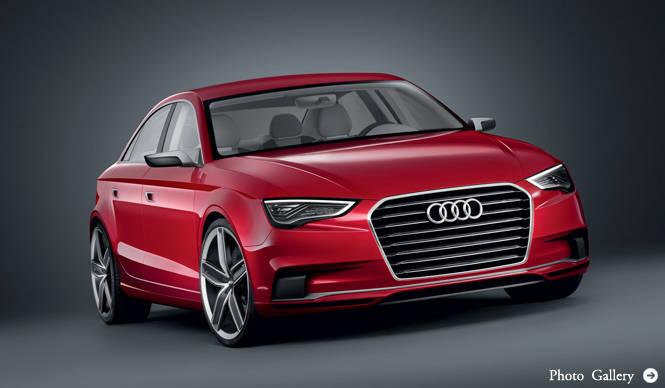 Audi A3 concept|アウディ A3 コンセプト A3にセダンが誕生