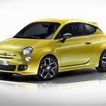 Fiat 500 Coupe Zagato concept|フィアット 500 クーペ ゼガート コンセプト ジュネーブで公開