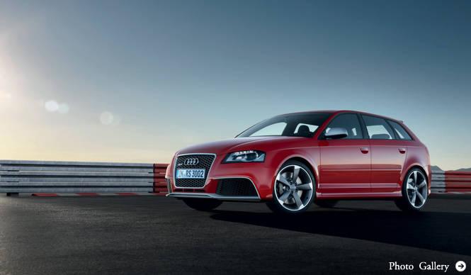 Audi RS3|アウディ RS3 より詳細な情報を発表