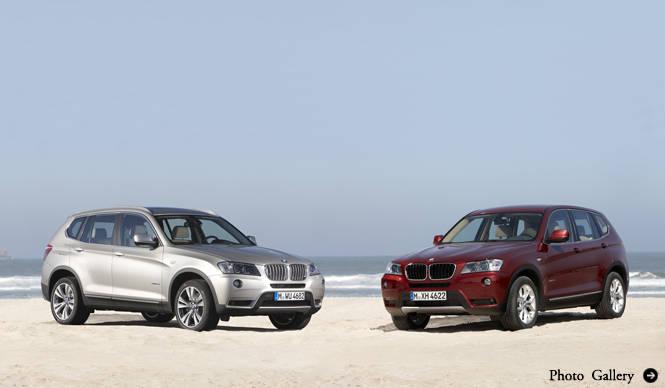 BMW X3|ビー・エム・ダブリュー X3 新型発売