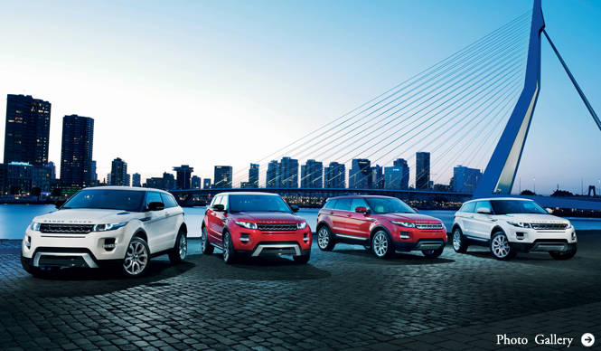Range Rover Evoque レンジローバー イヴォーク スペックを公表
