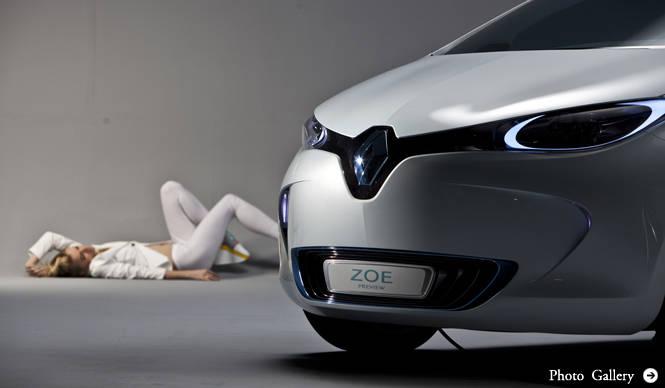 RENAULT ZOE PREVIEW|ルノー ZOE プレビュー 初の市販EV