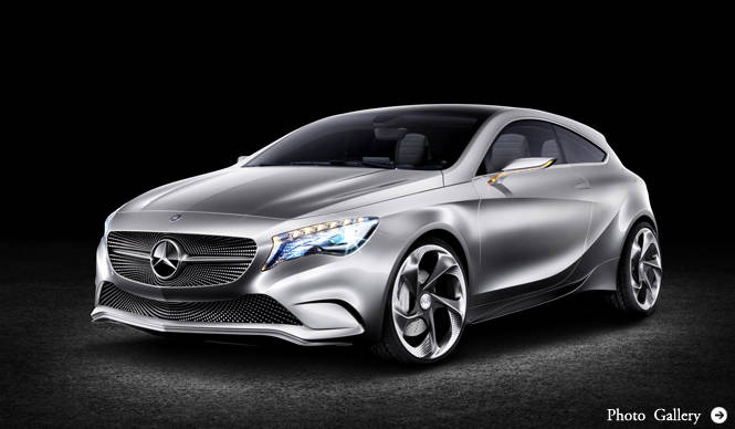 Mercedes-Benz Concept A-CLASS|メルセデス・ベンツ コンセプト Aクラス 上海でプレミア