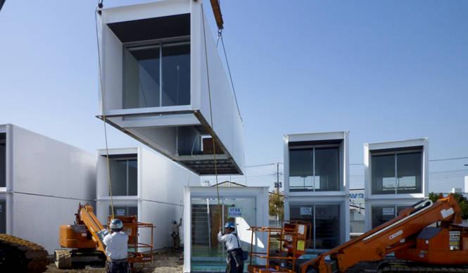 エクスコンテナ・プロジェクト|ずっと使える住宅を被災者に