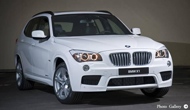 BMW X1│ビー・エム・ダブリュー X1 Mスポーツパッケージを採用