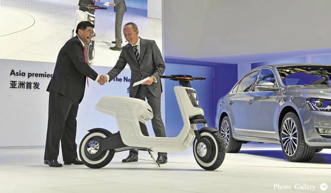 Volkswagen E-Scooter フォルクスワーゲン Eスクーター 他社製品との比較