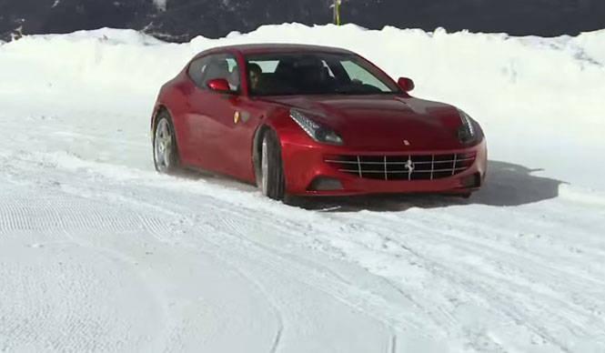Ferrari Four(FF) フェラーリ フォー(FF) 走りを動画で公開