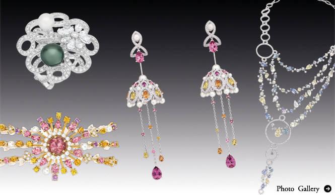 CHANEL 2011年春のテーマは「オリエントの秘密」! ハイ ジュエリー コレクションを一般公開