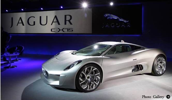 Jaguar C-X75|ジャガー C-X75 発売予定を公表!