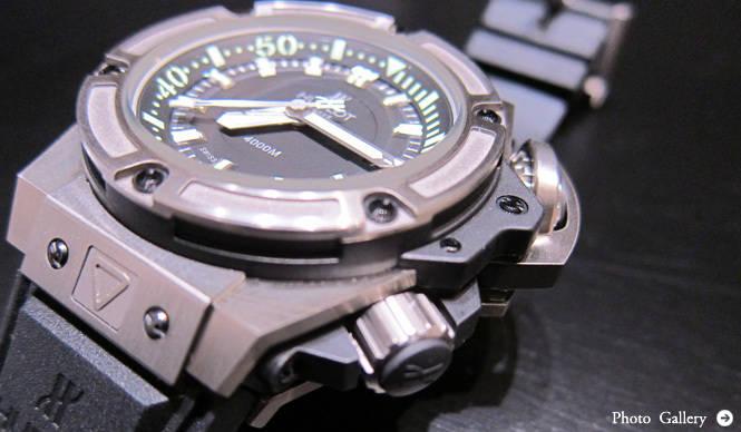 HUBLOT|史上最強、4000m防水と超ハイスペックのダイバーズモデルをリリース