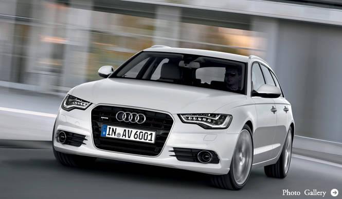 Audi A6 Avant|アウディ A6 アバント 次期型にアバントを追加