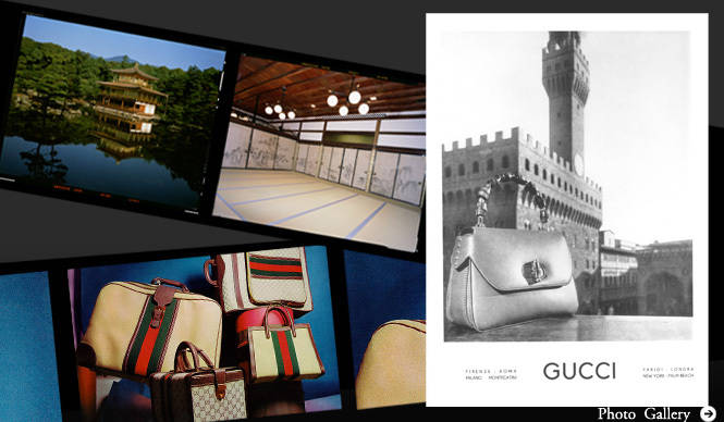 GUCCI 90年の歴史を紐解くアーカイブ展「時の贈りもの」を開催