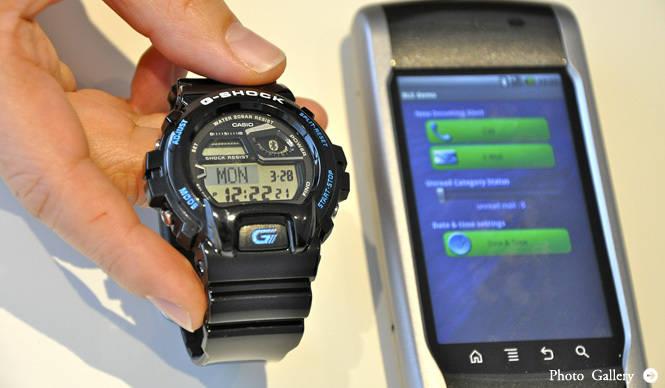 CASIO|スマートフォンと本格連携できる! 世界初の機能を搭載したG-SHOCKを発表